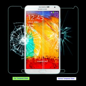 Note 3 tempered glass screen protector for samsung